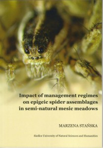 Impact of management regimes on epigeic spider assemblages on semi-natural mesic meadowns